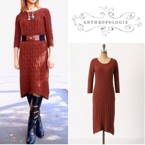 Sparrow by Anthro sweater dress